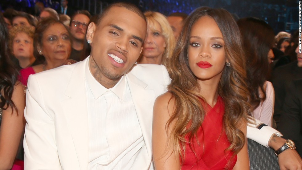 "Both Chris Brown and his then-girlfriend Rihanna were scheduled to perform at the Grammys in 2009 when he was arrested that weekend for for assaulting her. <a href=""http://www.cnn.com/2009/SHOWBIZ/Music/06/22/chris.brown.hearing/"">He pleaded guilty</a> and was sentenced to probation and community service. Here they attend the Grammys in 2013 after they briefly reunited."