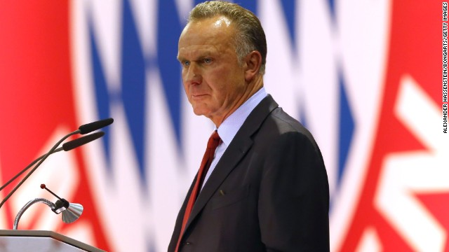 Karl-Heinz Rummenigge is one of the most influential men in European football as CEO of Bayern and chair of the European Clubs Association.