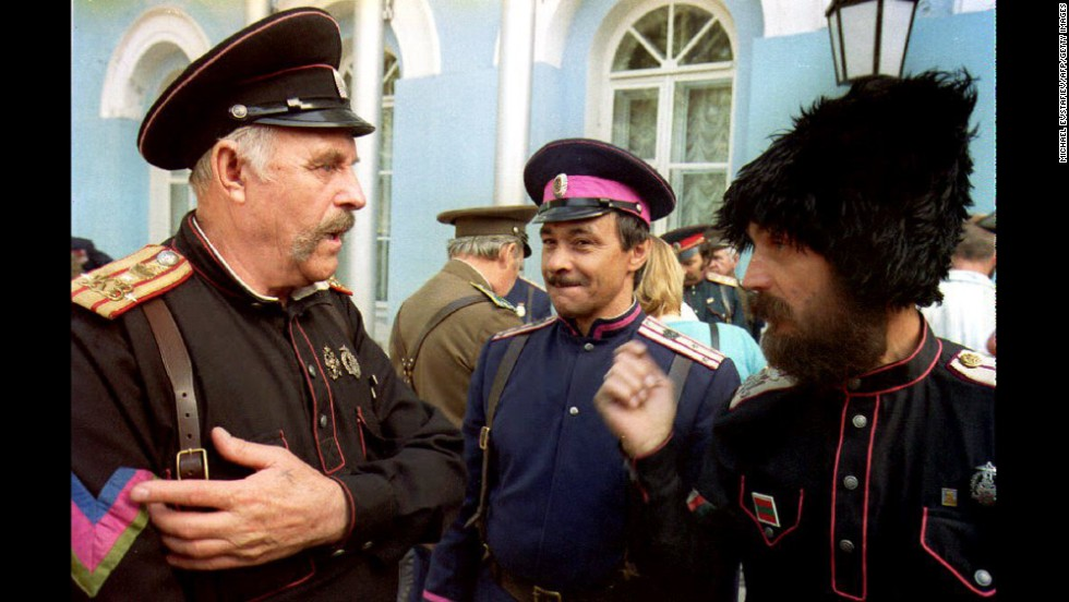 After the fall of the Soviet Union, Russia's Defense Ministry announced plans to deploy small units of Cossacks as part of the Russian Army. In August 1992, representatives for 12 Cossack forces convened in Moscow to discuss their revival at the All-Russian Congress of Cossacks.