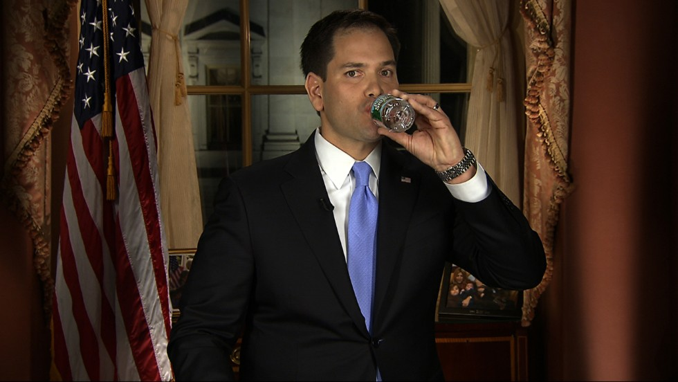 <strong>2013: Sen. Marco Rubio of Florida --</strong> The GOP rising star might have been parched during his party's response to President Barack Obama's State of the Union address, but since then his career has cooled a bit after his push for immigration reform. He's among the top names discussed for the GOP presidential nomination in 2016, if he runs.