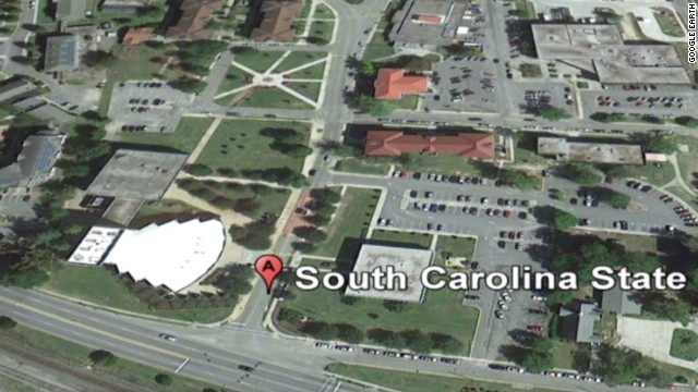 Police: Student shot at S.C. State Univ.