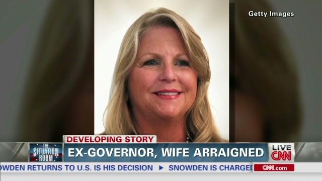 Fmr. VA Governor, wife arraigned