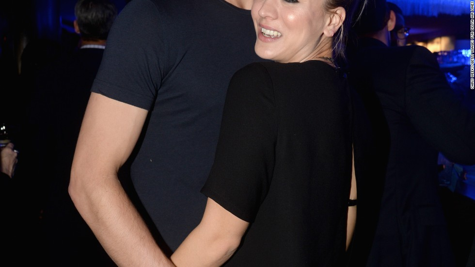 Newlyweds Ryan Sweeting and Kaley Cuoco enjoy a date night out during Grammys weekend on January 23.