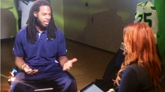 In a CNN exclusive, the Seattle corner talks about his infamous outburst - and the journey that got him to that moment