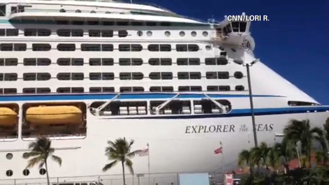 Cruise passenger: I'm never coming back