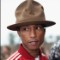 44 grammys red carpet - Pharrell