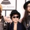 52 grammys red carpet - Yoko Ono