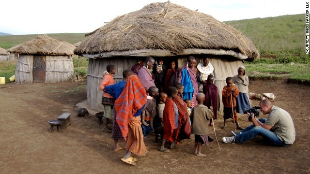 Photographing the Maasai, an African nomadic tribes people who have been heavily hit by HIV/AIDS.