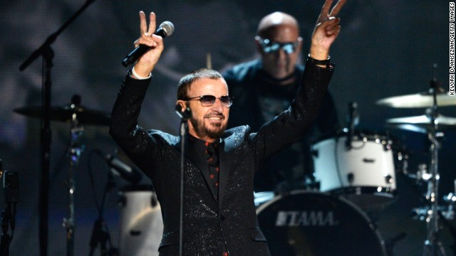 Ringo Starr's shout-out to Wolf Blitzer