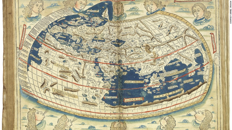 The world map within the 1482 edition of the Ptolemaic corpus is the first printed cartographical representation of Greenland, Iceland and the North Atlantic and the earliest datable printed map to bear a signature -- that of Johannes of Arnsheim.