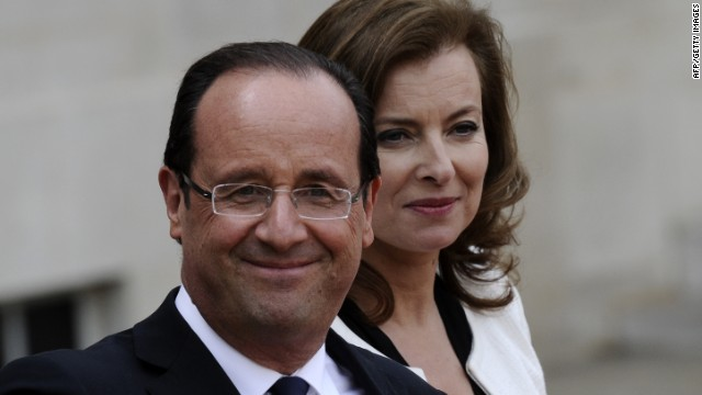 Will Hollande go stag to White House?
