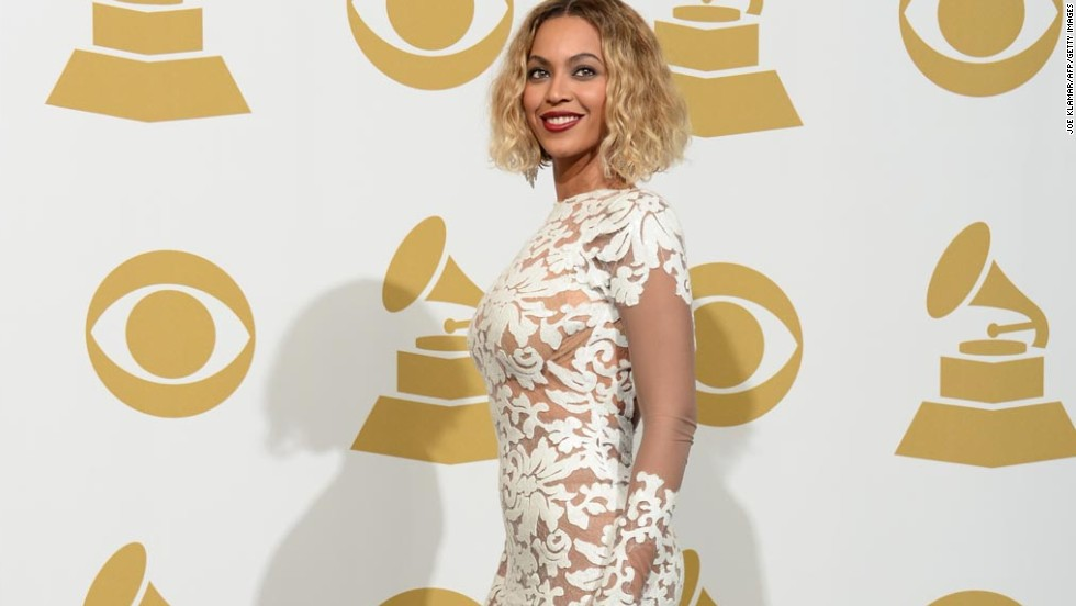 We have a theory that the reason we didn't see Beyoncé walking the red carpet -- aside from the fact that she had to open the show -- is because she wanted to spare all the other mere mortals from having to walk next to her in this dress.