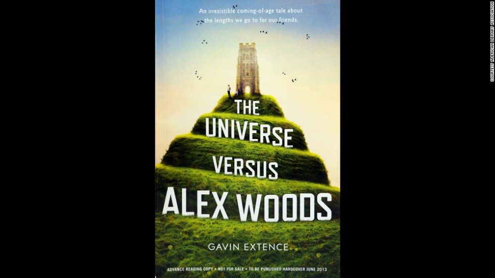 """The Universe Versus Alex Woods,"" written by Gavin Extence, is one of 10 books to win the Alex Award for best adult book that appeals to teen audiences."