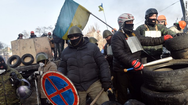 Ukraine protests spread east