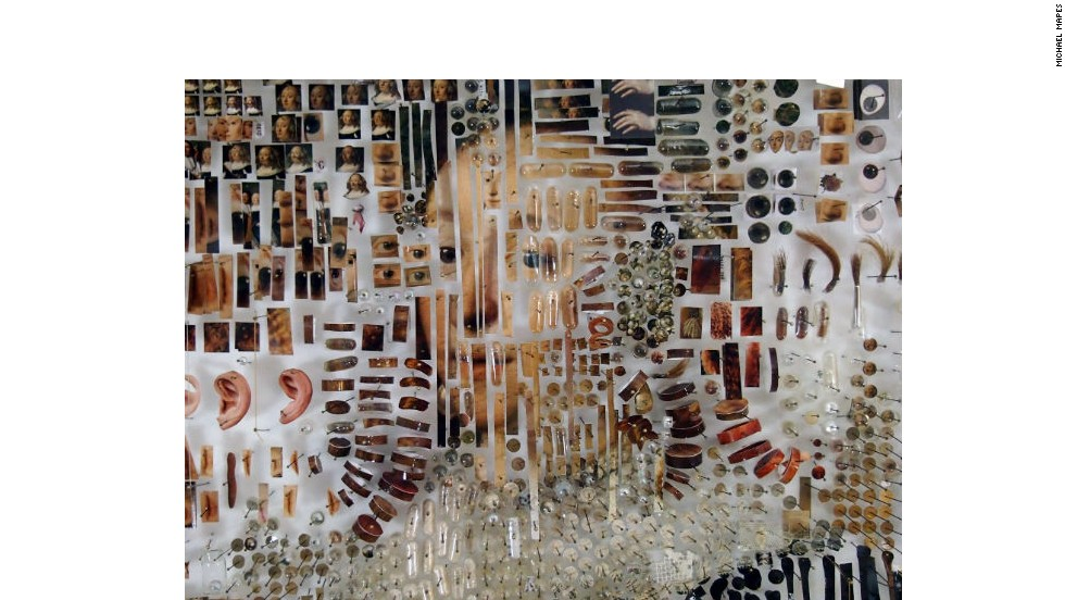 Mapes considers his reworked portraits as an artistic reexamination.