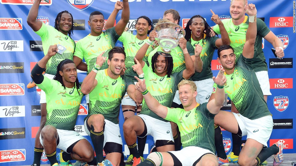 The South Africans set a record with their U.S. success, conceding only 14 points in their six matches.