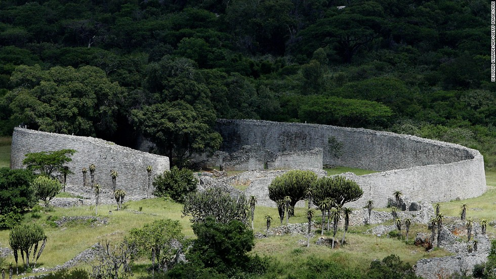 The ruins of Great Zimbabwe are a UNESCO World Heritage site and one of Africa's most important historical monuments.