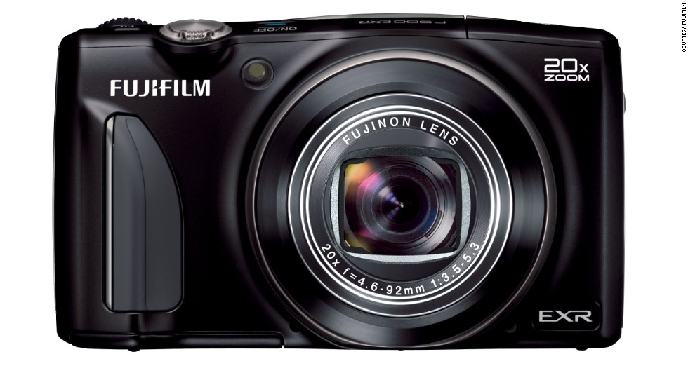 <strong>Fujifilm F900 EXR</strong>. Photographers who use a DSLR will appreciate this pocket cam that shoots in RAW, allowing full editing with photo software. Auto modes are supplemented by a full manual mode.