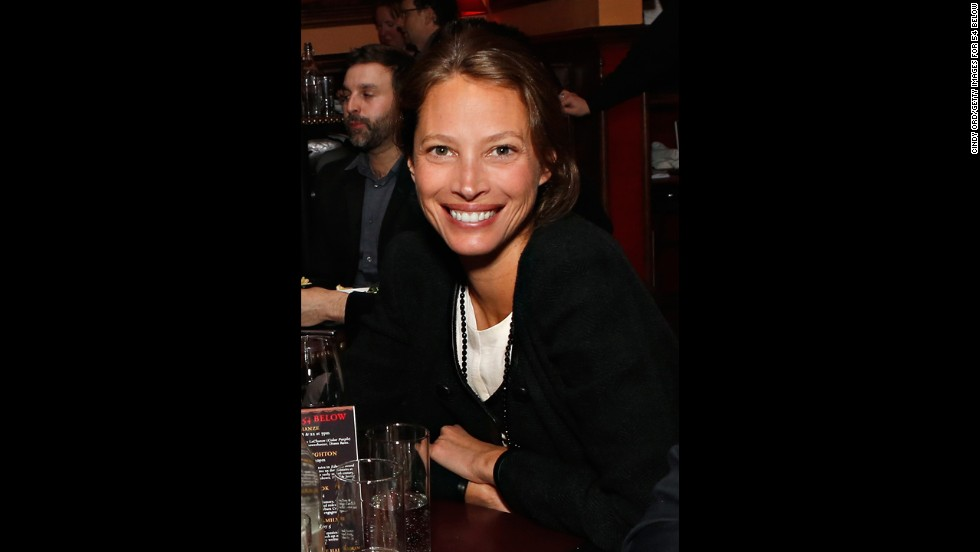 Model Christy Turlington Burns has a bachelor's degree in comparative religion and Eastern philosophy from New York University and a master's in public health from Columbia University.