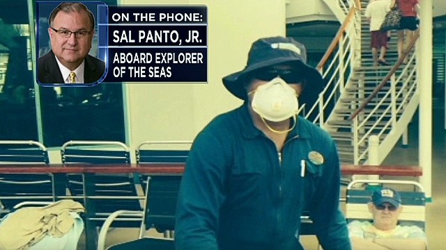 Passenger: People were deathly sick