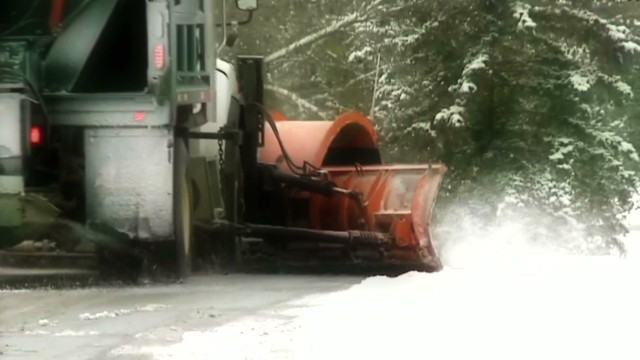 Cold air pummels parts of the country