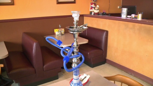 Have a hookah delivered with your pizza