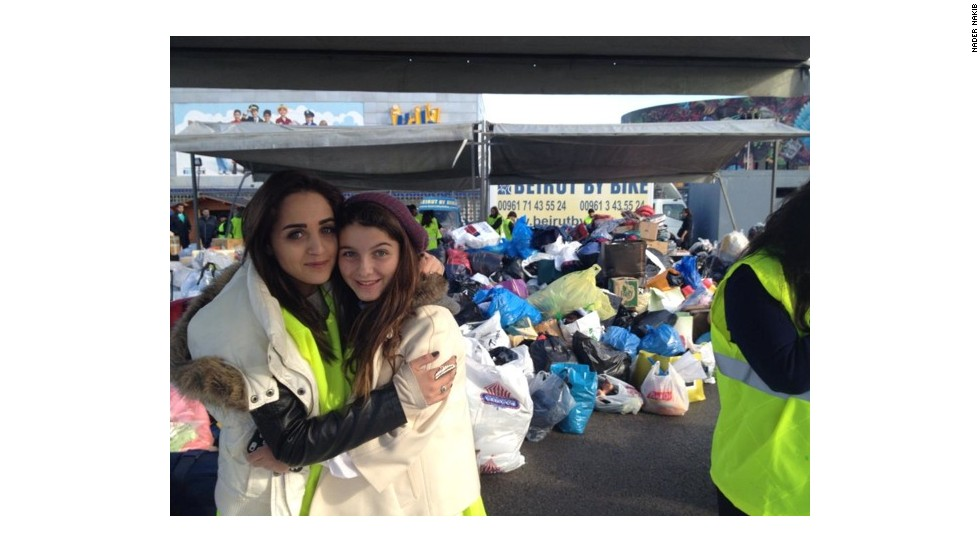 "Tanya Khalil says she refuses to be a neutral observer. Her country, Lebanon, has taken in nearly 900,000 Syrian Refugees.  She led an effort to collect 10,200 ""bags of love"" for Syrian Refugees."