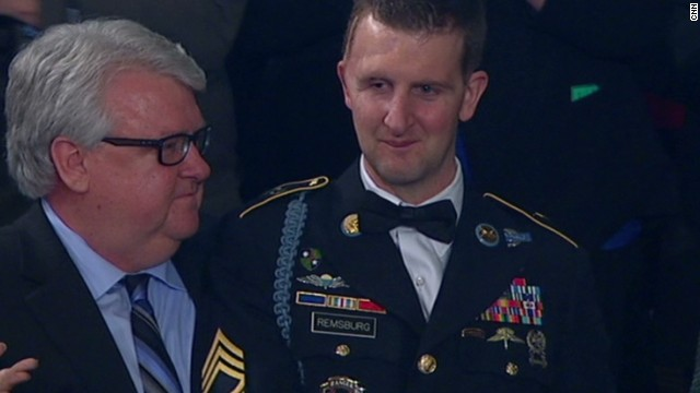 Congress comes together to honor war hero