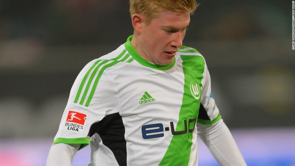 Winger Kevin de Bruyne was another player to exit Stamford Bridge. The Belgian joined German club Wolfsburg for a reported $27 million on a five-year contract.