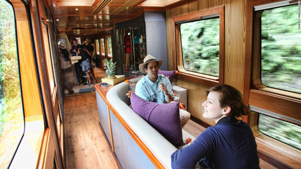 Tren Crucero's four luxury carriages were manufactured in Madrid.