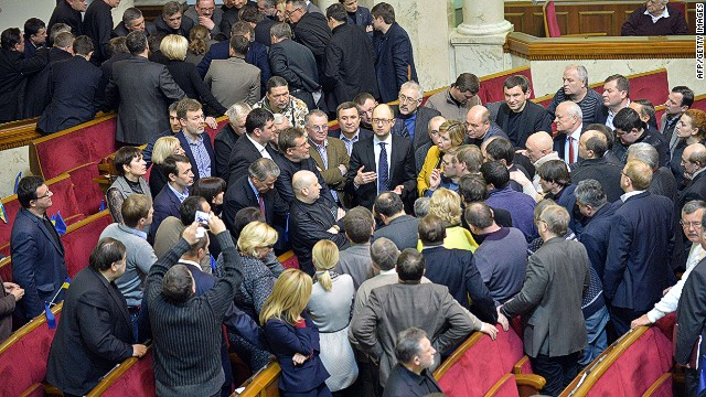 Ukraine parliament approves amnesty law