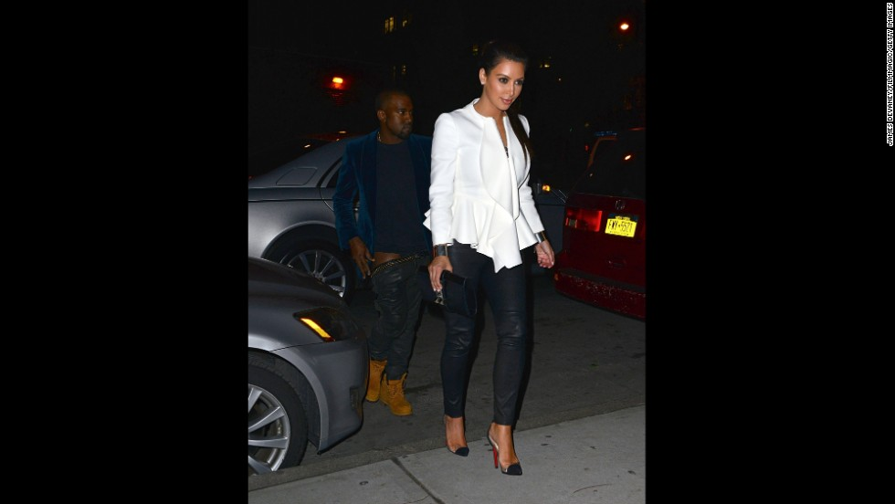 "One of the telltale signs that Kanye West and Kim Kardashian were dating came in April 2012, when West seemed unable to keep his pants on while exiting a car with Kardashian. While most took this as all the proof they needed about the romance, <a href=""http://marquee.blogs.cnn.com/2012/05/03/overheard-kim-k-on-kanyes-wardrobe-malfunction/"" target=""_blank"">Kardashian later explained</a> that his pants problem wasn't as tawdry as it looked: ""He was getting out of the car and ... his belt got pulled by this hook on the car door and he was trying to pull it up quick, and his belt was really heavy. It was a wardrobe malfunction, but it wasn't anything intentional."""