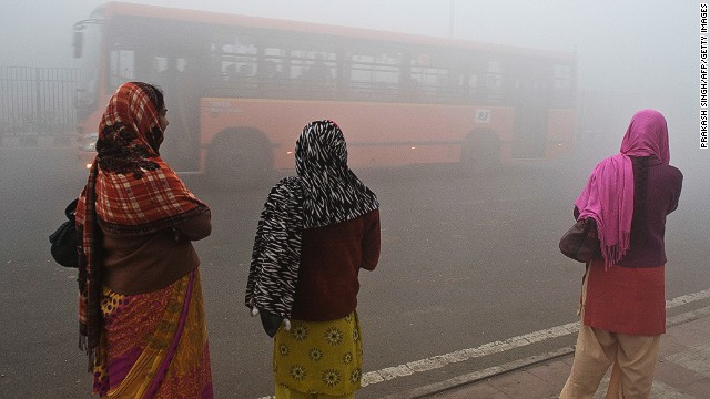 New Delhi smog can hit 60 times safe levels, India's Center for Science and Environment (CSE) says.
