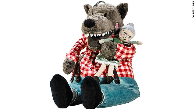 Lufsig the wolf has become a cuddly symbol of disillusionment with Hong Kong's leader