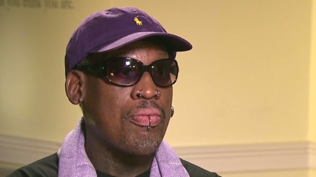 Was Rodman drunk during interview?