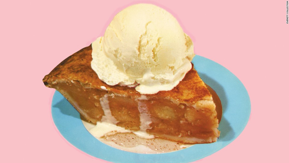 """<strong>Apple pie (England): </strong>Historians trace the origins of the pastry shell  to ancient Greece, <a href=""""http://content.time.com/time/nation/article/0,8599,1862315,00.html"""" target=""""_blank"""">but it was the English who got the idea of using apples</a>, and in the pre-Revolution Colonies, the practice of using pies as preservatives, and experimenting with spices like cinnamon and nutmeg, helped in the evolution of the treat that is as American as, well ..."""