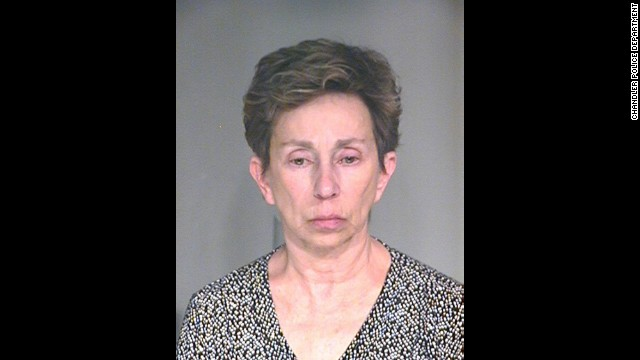 Rosemary Vogel was arrested after a warning alarm on her husband's IV monitor sounded.