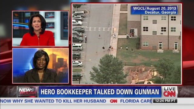 Finding purpose in talking down gunman