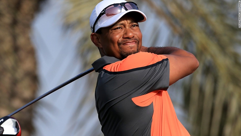 World No. 1 Tiger Woods was 11 shots behind the 39-year-old Scot, in a tie for 37th.