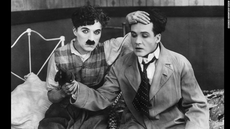 """Sunnyside"" (1919) takes a whimsical look at farm life as Chaplin's character tries to win the neighbor's daughter's heart over the attentions of a visitor from the city."