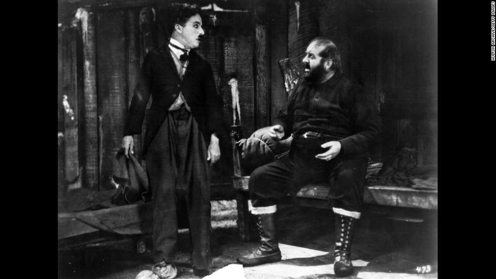 "In ""The Gold Rush"" (1925), Chaplin's character ventures to Alaska on a quest for gold, where he finds hunger and lovesickness. Mack Swain also appeared in the film, written, produced and directed by Chaplin."