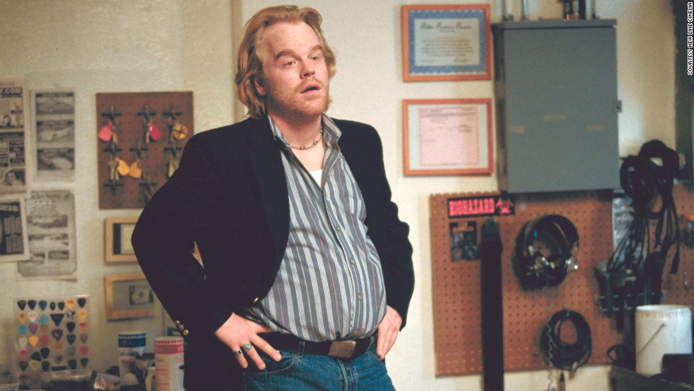 "Hoffman plays a phone sex-line supervisor and mattress store owner in 2002's ""Punch-Drunk Love."""