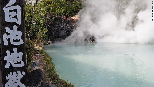 White Pond Hell's color comes from a combo of boric acid, salt, sodium silicate and calcium bicarbonate.