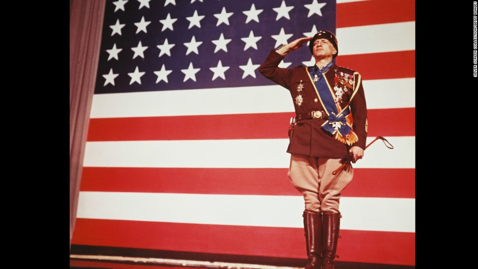 George C. Scott made Oscar history when he became the first actor to refuse the award. Scott played the title role in this biography of volatile World War II Gen. George S. Patton Jr. The film, directed by Franklin J. Schaffner, reportedly was one of President Richard Nixon's favorite films.