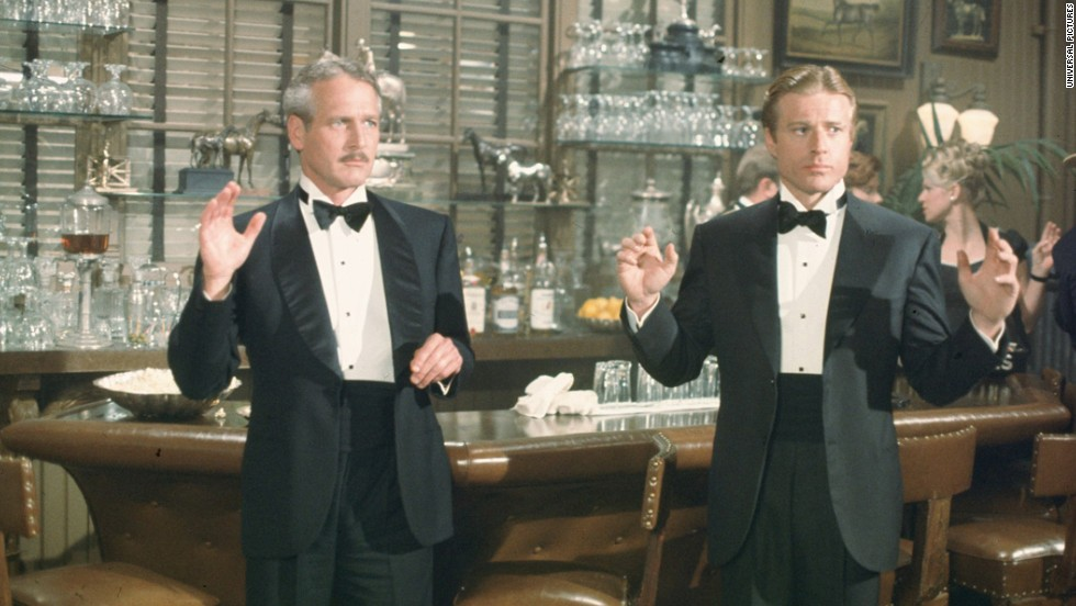"""Teaming up again after """"Butch Cassidy and the Sundance Kid"""" (1969), Paul Newman and Robert Redford in best picture winner """"The Sting"""" helped make the buddy film one of the key movie genres of the '70s. The two played con men in 1930s Chicago in the George Roy Hill movie, which featured the music of ragtime composer Scott Joplin."""
