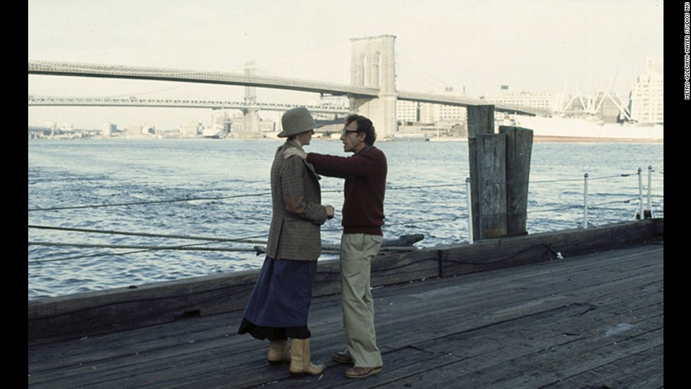 "<strong>""Annie Hall"" (1977)</strong> - Diane Keaton and Woody Allen play lovers in this classic New York City film. They were a couple at one point in real life too. (Amazon)"