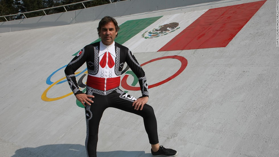 The sole representative of Mexico, Hubertus von Hohenlohe, is a skier descended from German royalty, and says he will hit the slopes in a mariachi suit.
