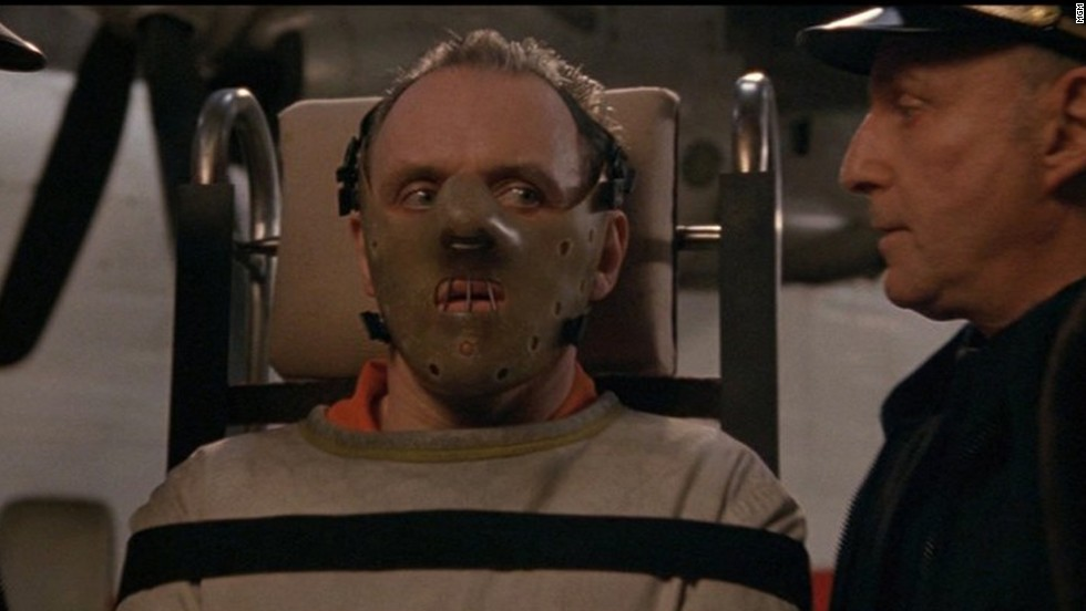 "Anthony Hopkins eats it up as Dr. Hannibal Lecter in 1991's ""The Silence of the Lambs."""