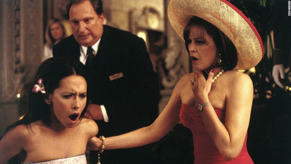 "Sigourney Weaver and Jennifer Love Hewitt star as a mother-daughter con team in the 2001 movie <strong>""Heartbreakers.""</strong> (Available now.)"