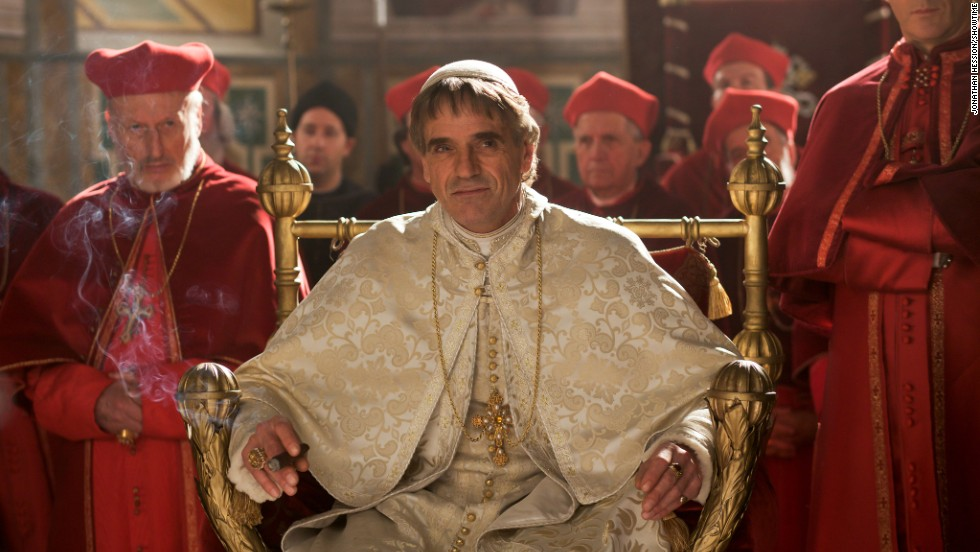 "Warning: Seasons 1-3 of Showtime's historical drama <strong>""The Borgias""</strong> can be addictive. Here, Derek Jacobi stars as Cardinal Orsini, Jeremy Irons is Rodrigo Borgia, and Peter Sullivan is Cardinal Ascanio Sforza. (Available now.)"
